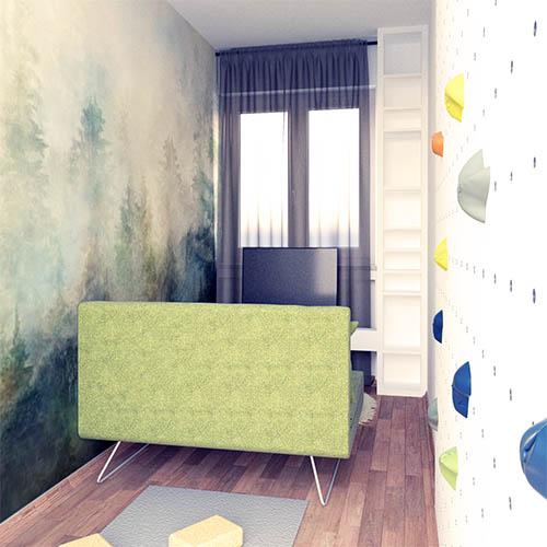 Beispiel kleine Wohnung Gästezimmer